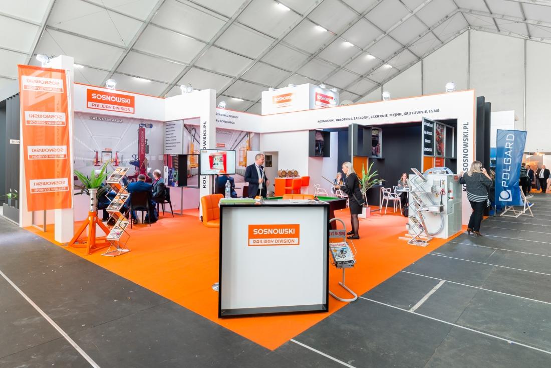 TARGI TRAKO W AMBER EXPO W GDAŃSKU 2019 SOSNOWSKI RAILWAY DIVISION